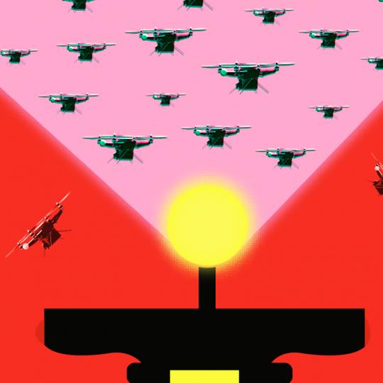 4Hawk Raptor Drone Menzil Arttırıcı Oyuncak Hobi
