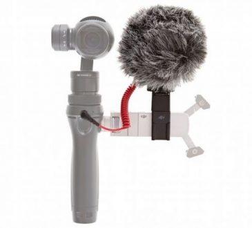 DJI Osmo için RODE VideoMicro ve Osmo 360 Quick Release ile mükemmel ses kayıt deneyimi!