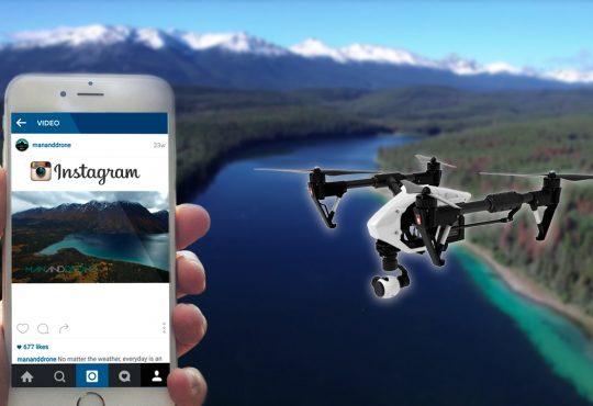 Drone ve Instagram